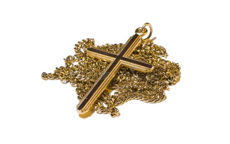 naszyjnik krzyżowa zdjęcia royalty free