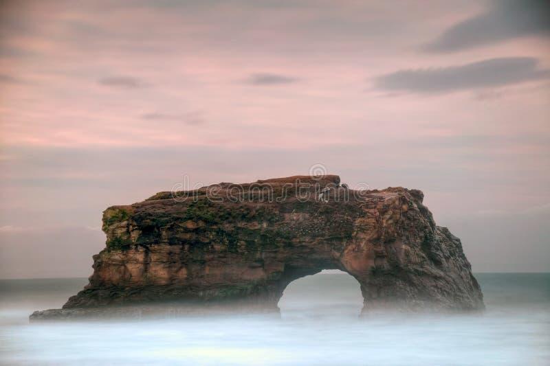 Natürliche Brücke stockbild