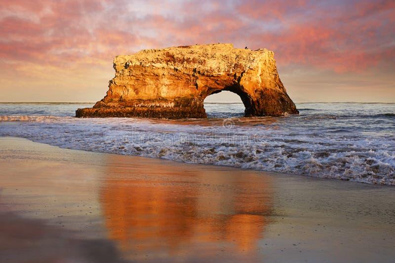 Natürliche Brücke in der Orange, Kalifornien stockbilder