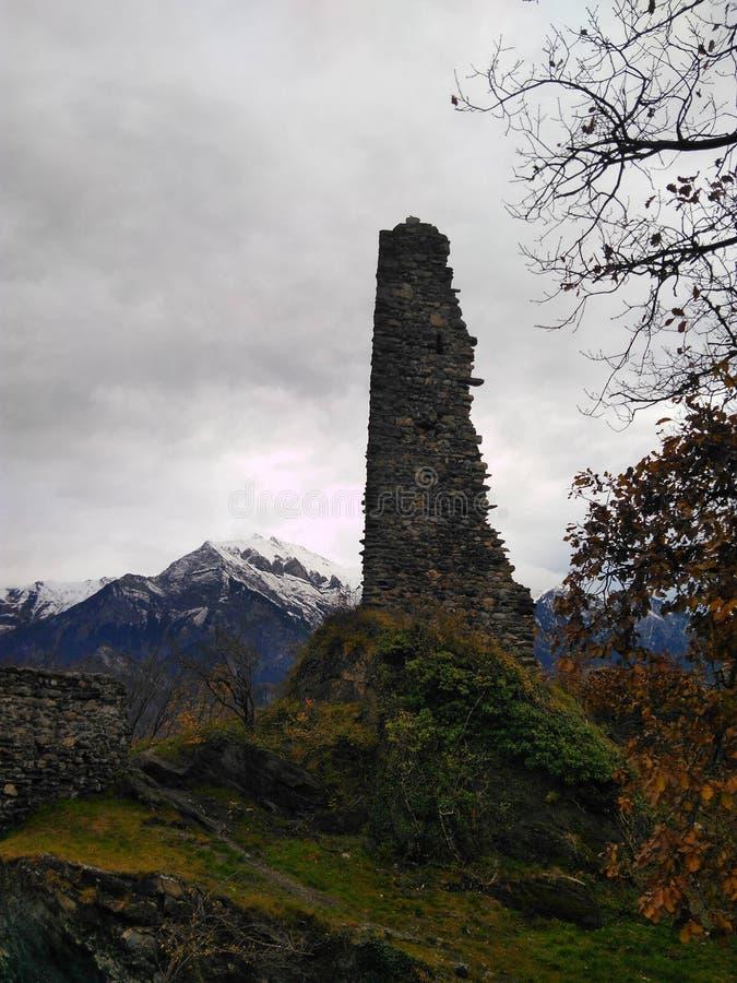 Natürliche Felsen-Säule lizenzfreies stockfoto