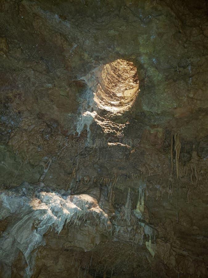 Natürliche Höhlen stockbild