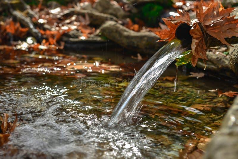 Natürliche, kalte und Süßwasser lizenzfreie stockbilder