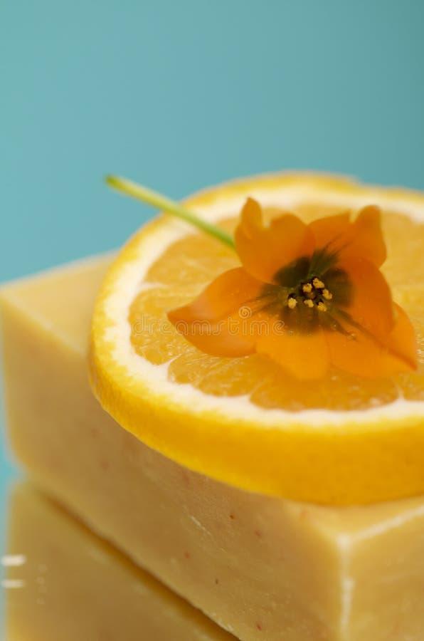 Natürliche Seife stockbild