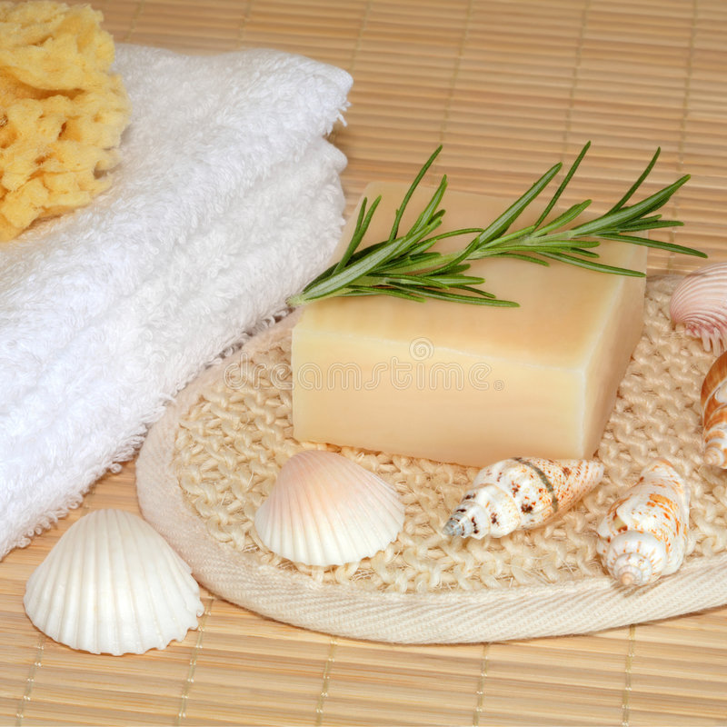 Natürliche Skincare Produkte lizenzfreie stockfotografie