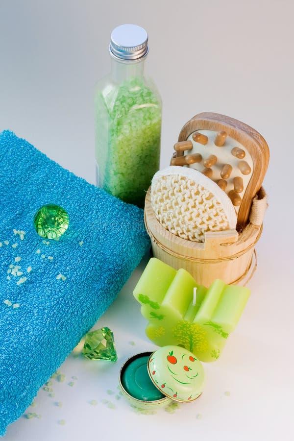 Natürliche Skincare Schönheits-Produkte lizenzfreies stockfoto