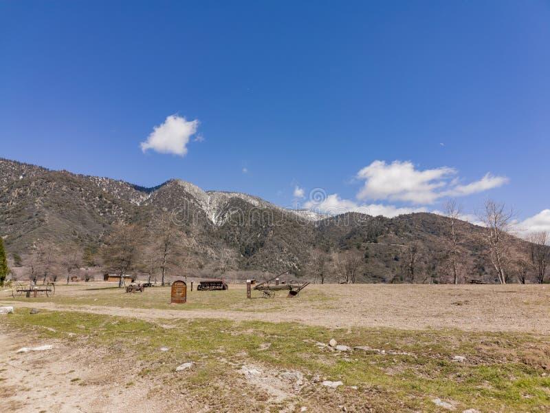 Natürliche Szene um Eiche Glen Preserve lizenzfreie stockfotos