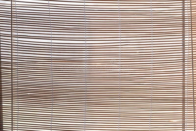 Natürliche Vorhänge des Strohs, Jalousie Die Strohzweig-Hintergrundbeschaffenheit, die f?r irgendwelche passend ist, entwerfen stockbilder