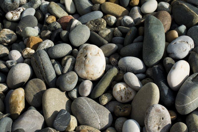 Natürlicher bunter Stein lizenzfreie stockfotos