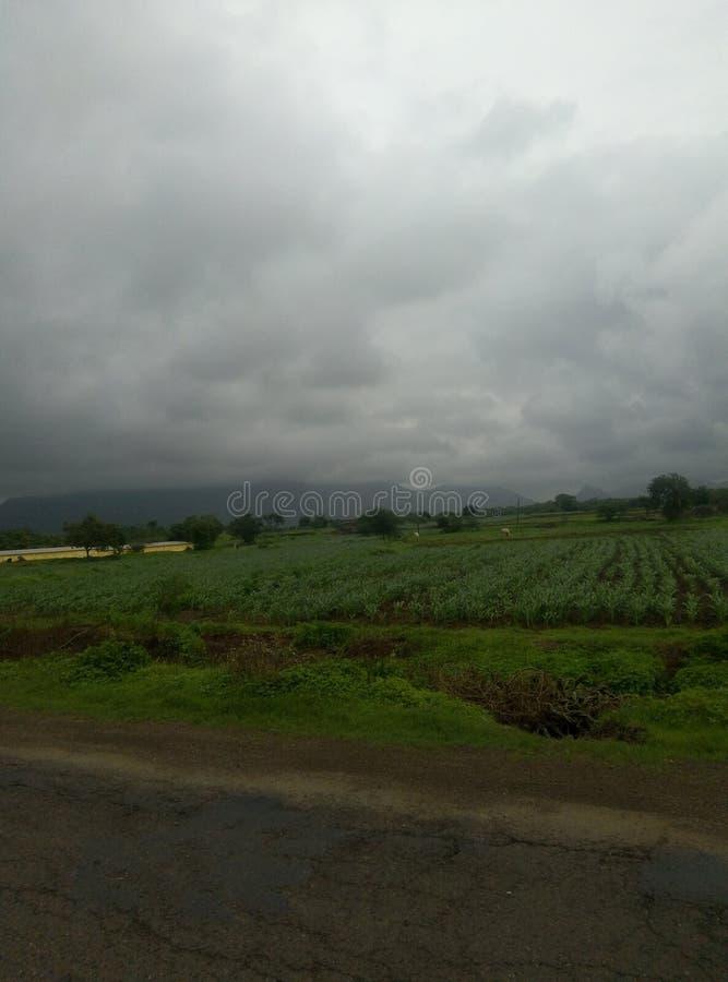 Natürlicher Monsunzeit Pic stockbild