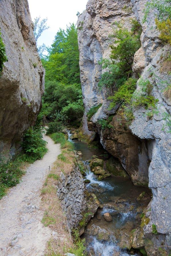 Natürlicher Park von Valderejo lizenzfreies stockfoto