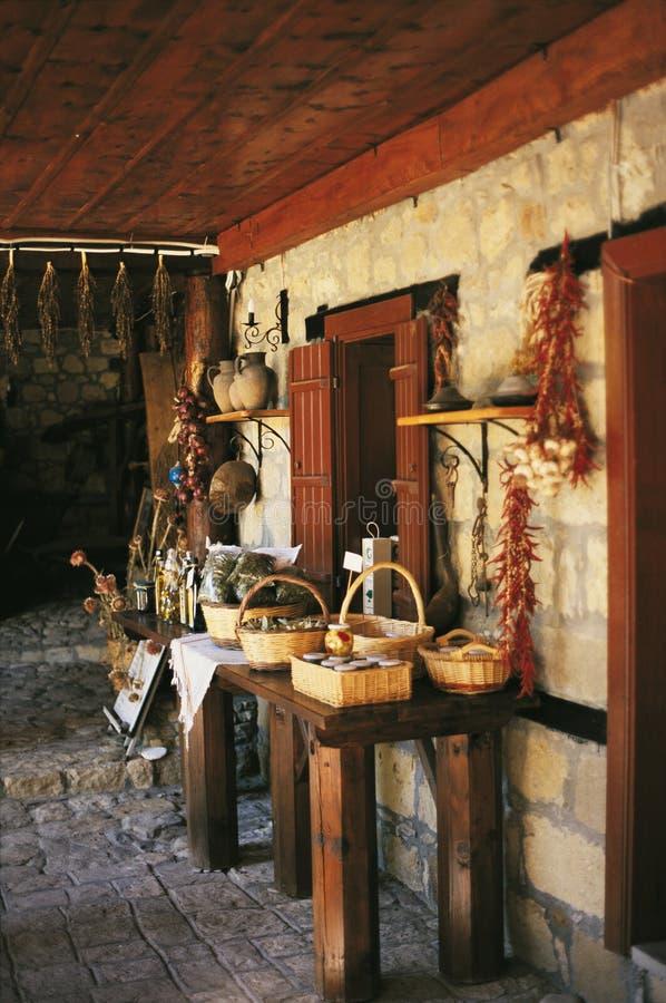 Natürliches altes Haus stockbilder