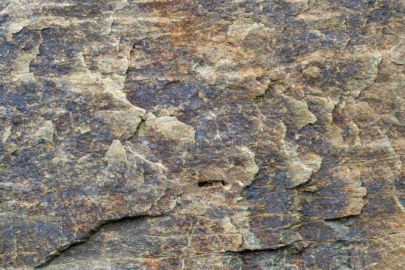 Natürliches backgound Beschaffenheit von slatestone mit Korrosionsmuster lizenzfreies stockbild