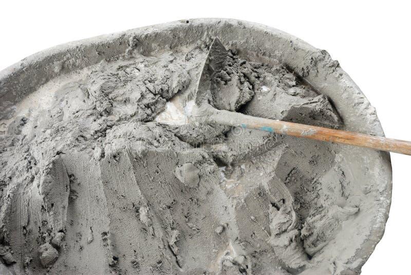 Nat cement royalty-vrije stock afbeeldingen