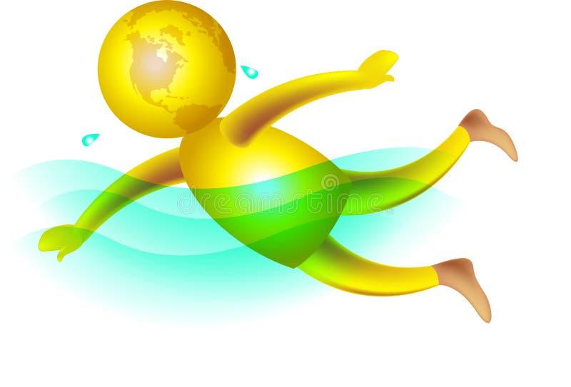 Natación libre illustration