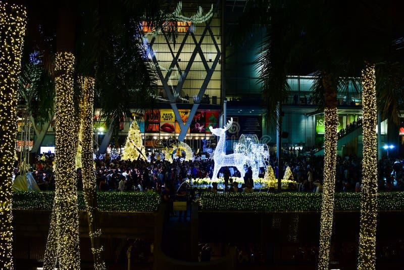 Natal & ano novo feliz 2017 fotografia de stock royalty free