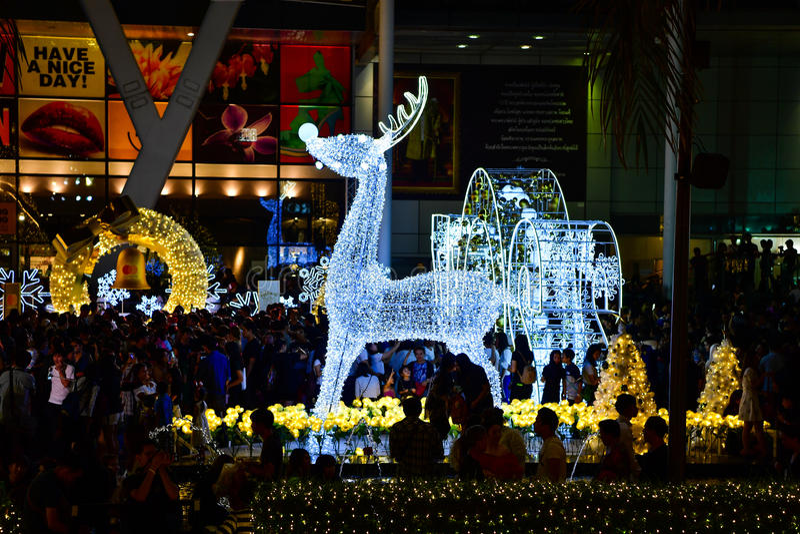 Natal & ano novo feliz 2017 fotos de stock royalty free