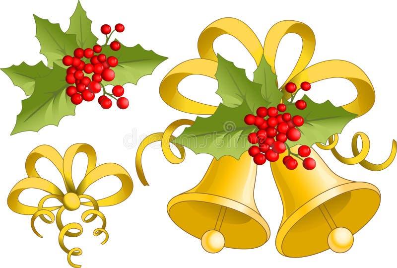 Natal Bell ilustração do vetor