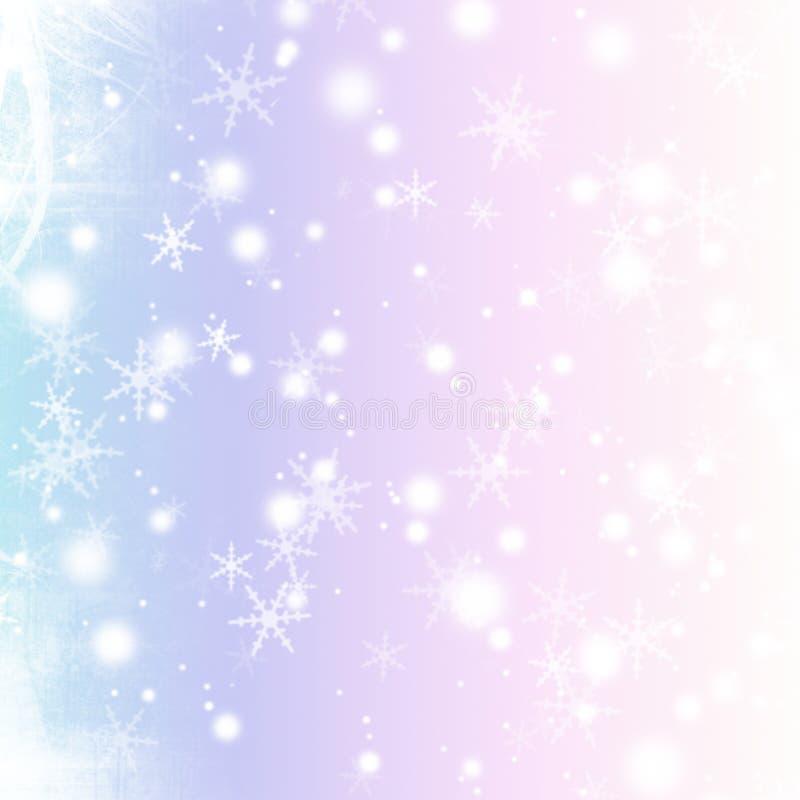 Natal Bokeh ilustração stock
