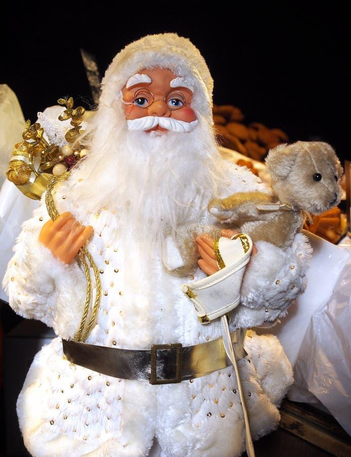 Natal Boneca de Papai Noel fotografia de stock royalty free