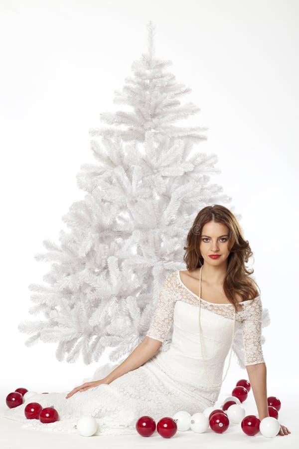 Natal branco fotos de stock
