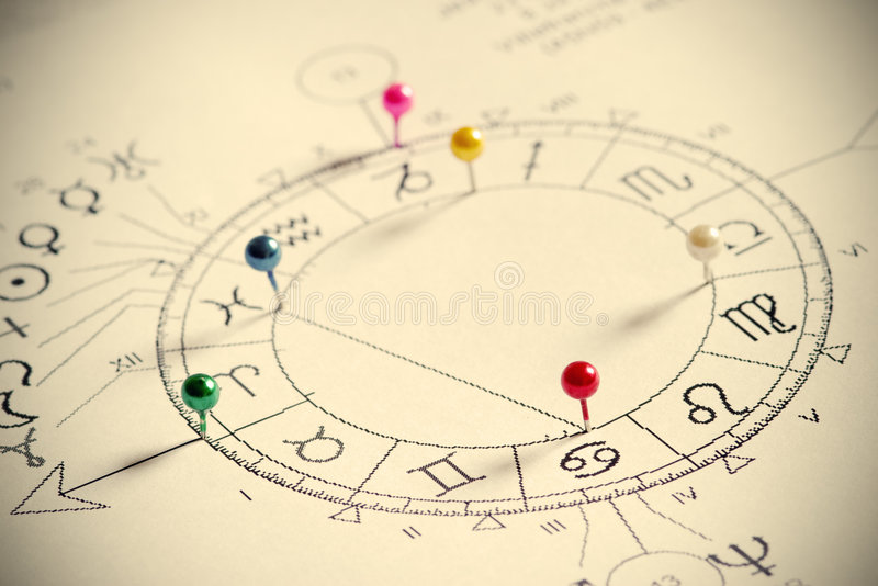 Download Natal Chart stock image. Image of astrology, future, pattern - 4458103
