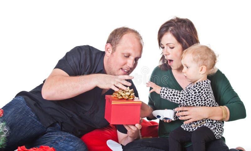 Natal com minha família foto de stock