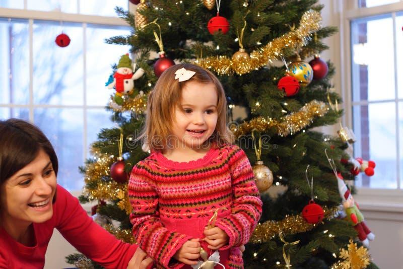 Natal da família fotos de stock