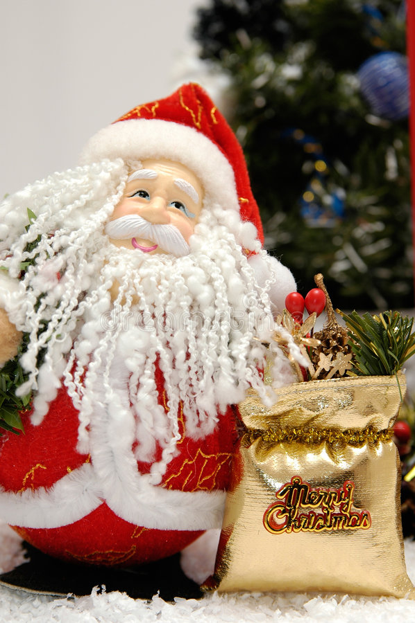 Natal de Papai Noel foto de stock