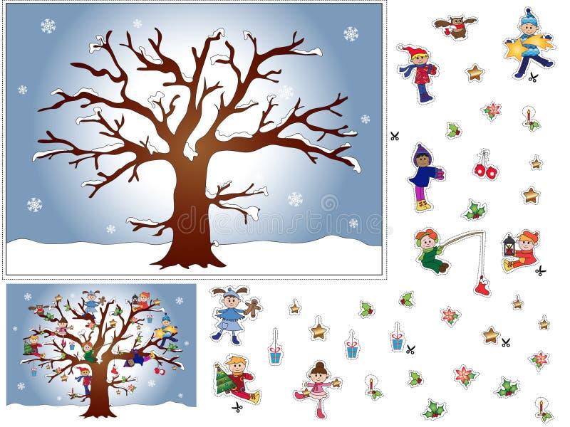 Natal do jogo ilustração stock