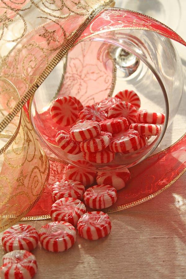 Natal do Peppermint. imagens de stock