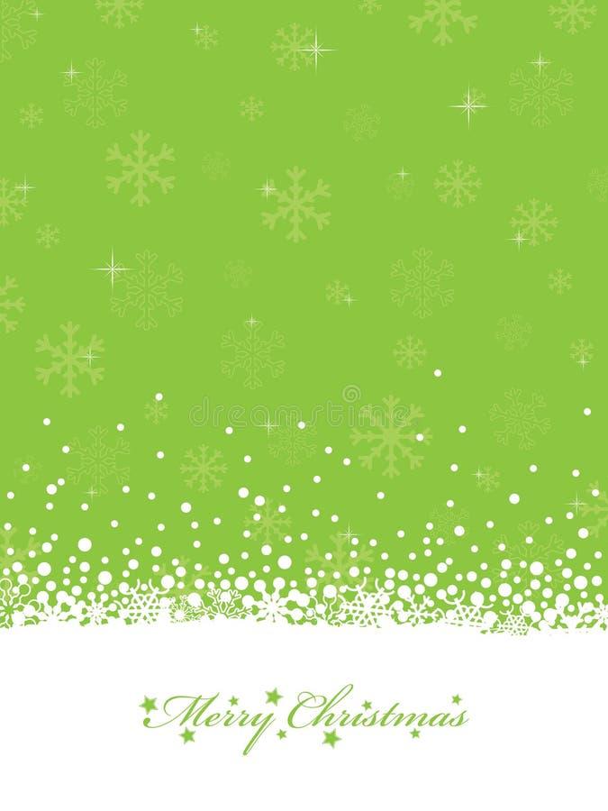 Natal do verde de cal ilustração do vetor