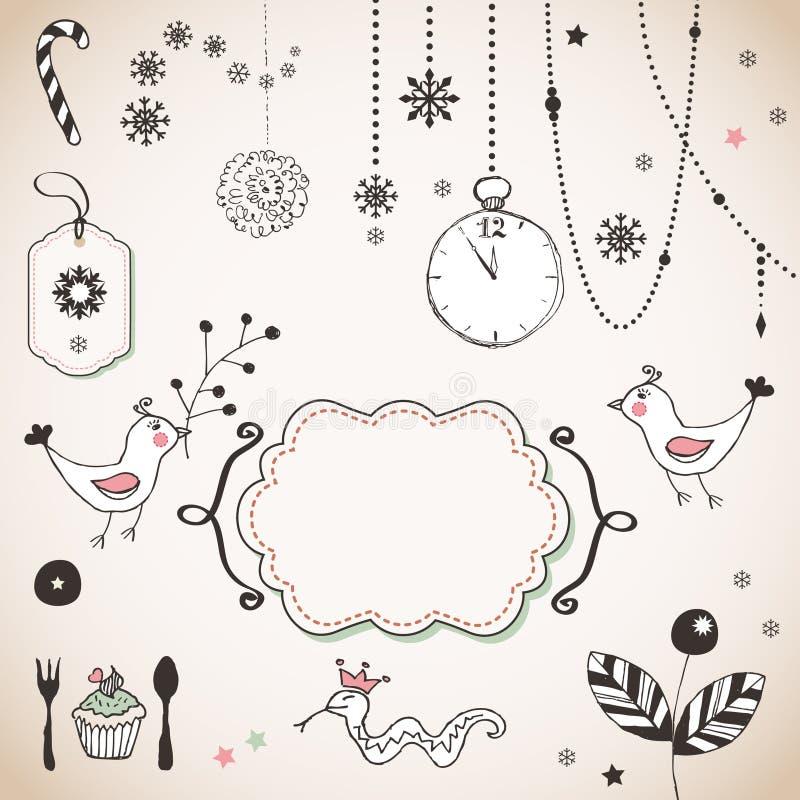 Download Ornamento do Natal ilustração do vetor. Ilustração de muffin - 29827272