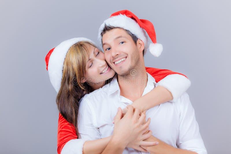 Natal dos pares imagens de stock royalty free