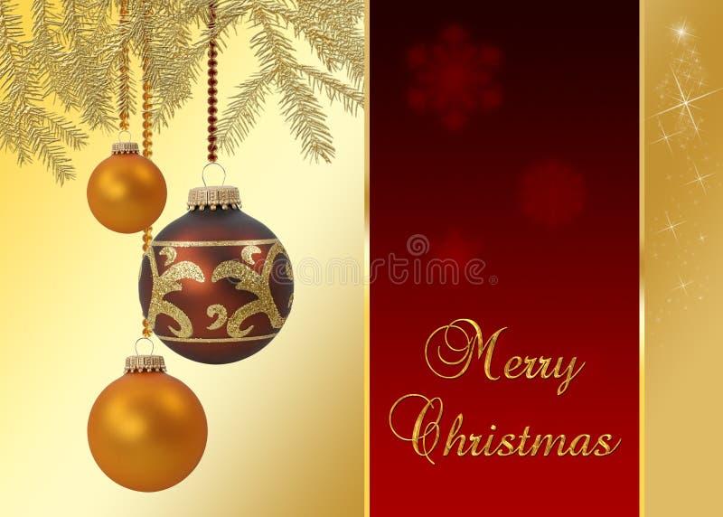 Natal elegante ilustração stock