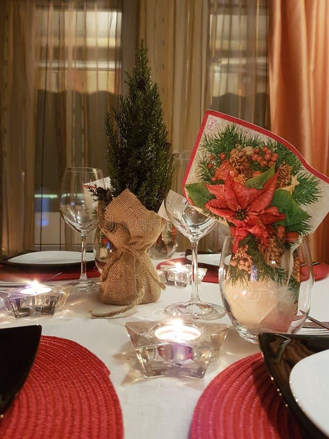 Natal em casa fotos de stock royalty free