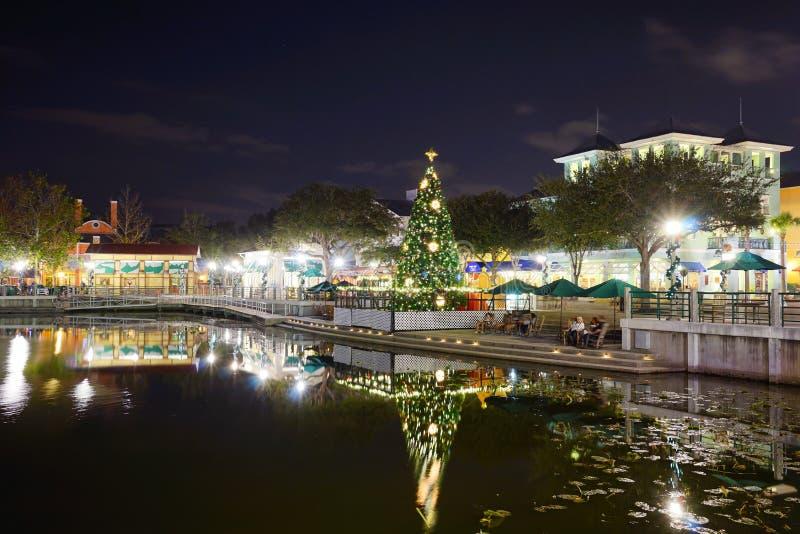 Natal em Kissimmee foto de stock