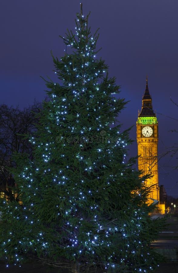 Natal em Londres imagem de stock