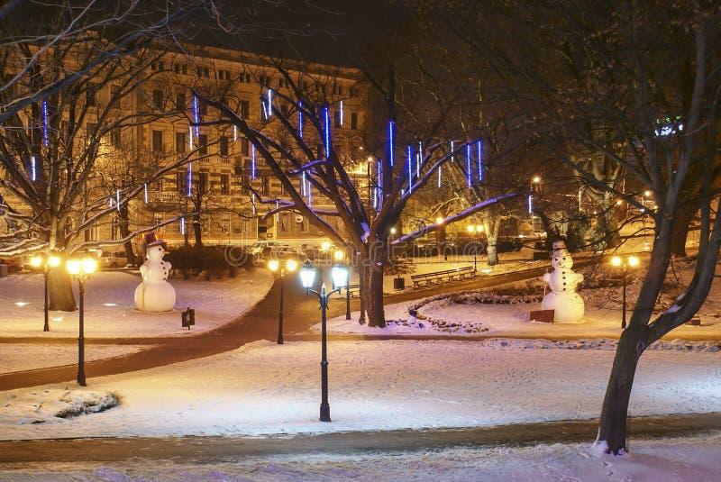 Natal em Riga foto de stock royalty free