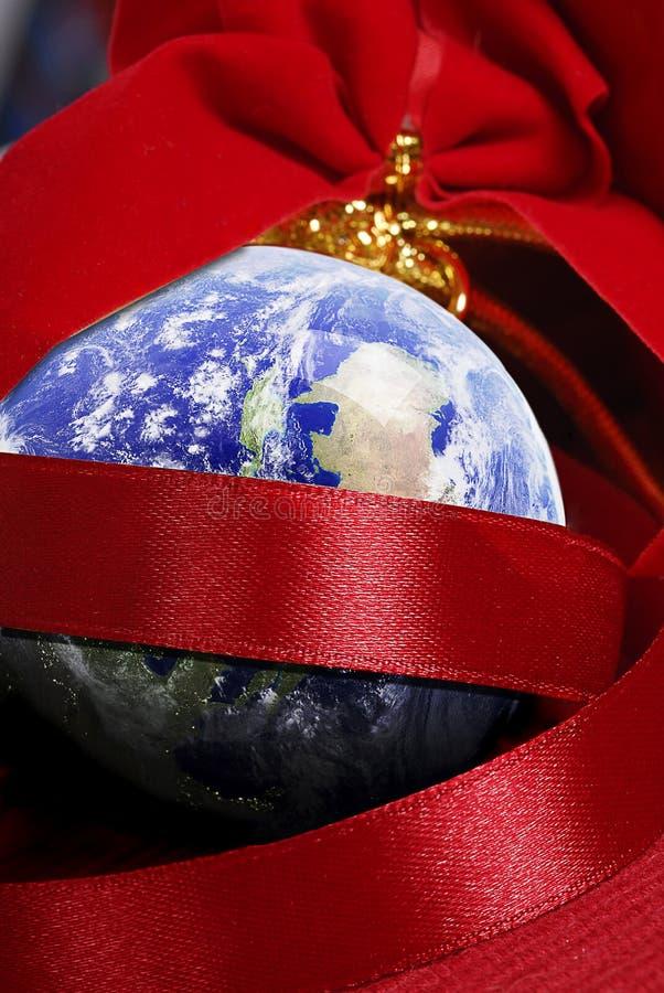 Natal em torno do mundo imagem de stock royalty free