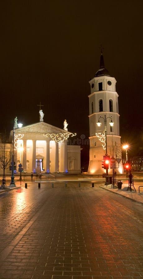 Natal em Vilnius imagem de stock