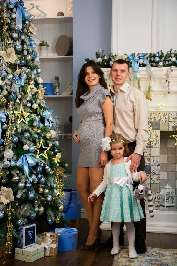 Natal Family E fotos de stock