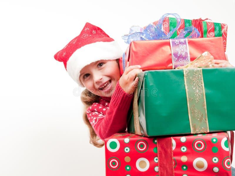 Natal feliz fotografia de stock