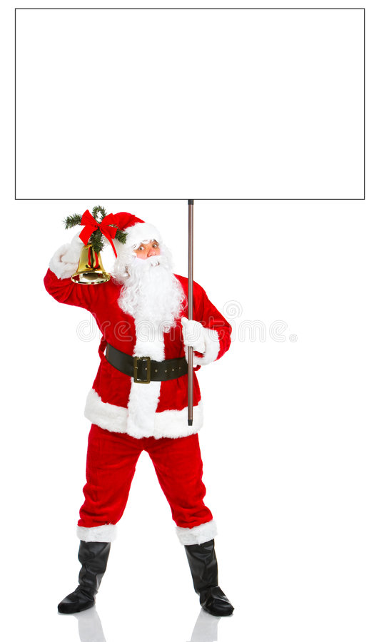 Natal feliz Santa imagens de stock