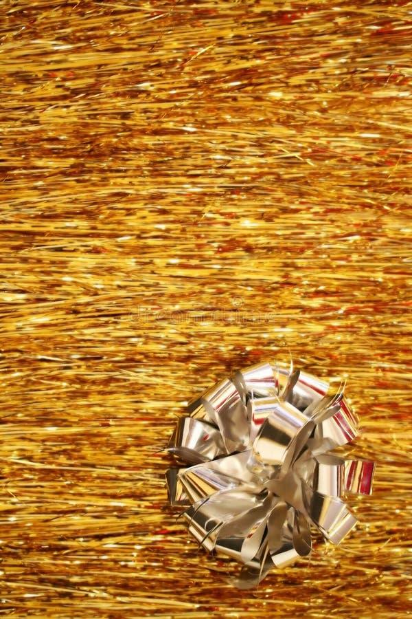 Natal - flor de prata foto de stock royalty free
