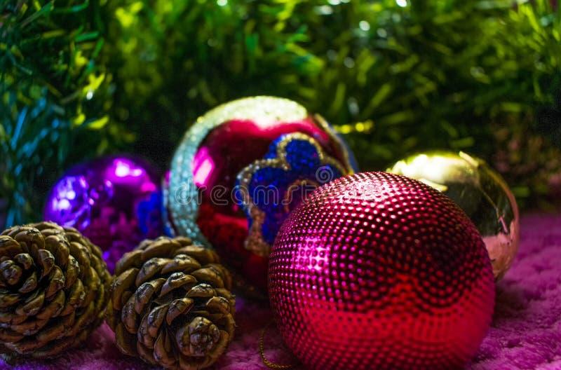 Natal, fundo do ano novo foto de stock