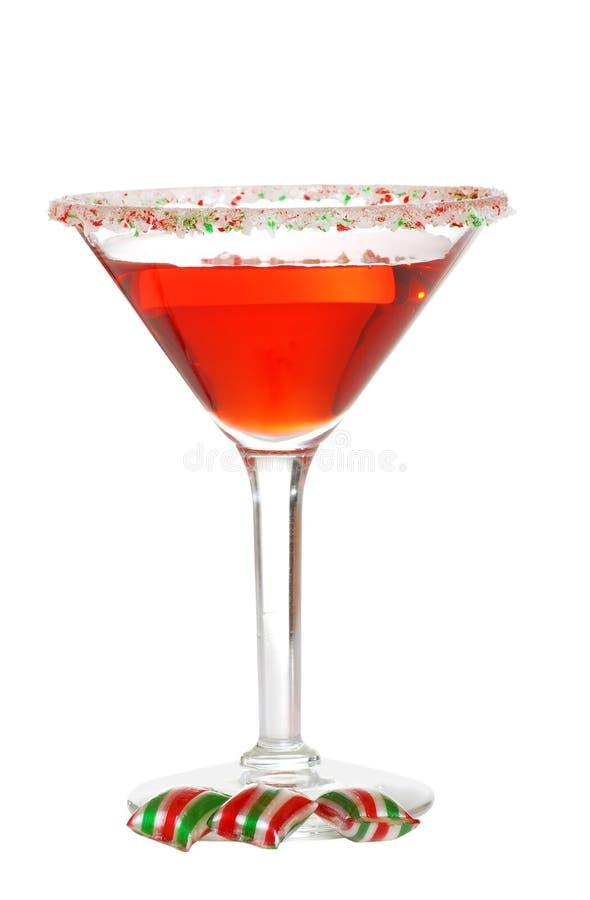 Natal martini imagens de stock royalty free