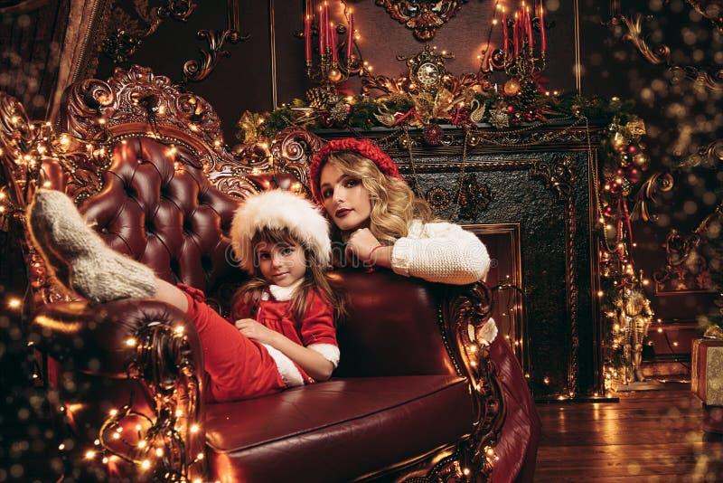 Natal na casa fotos de stock royalty free