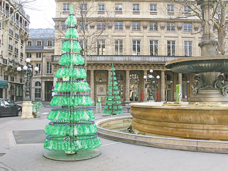 Natal reciclado imagens de stock