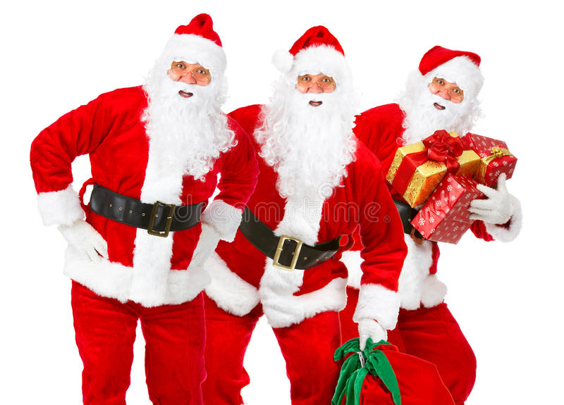 Natal Santa foto de stock royalty free