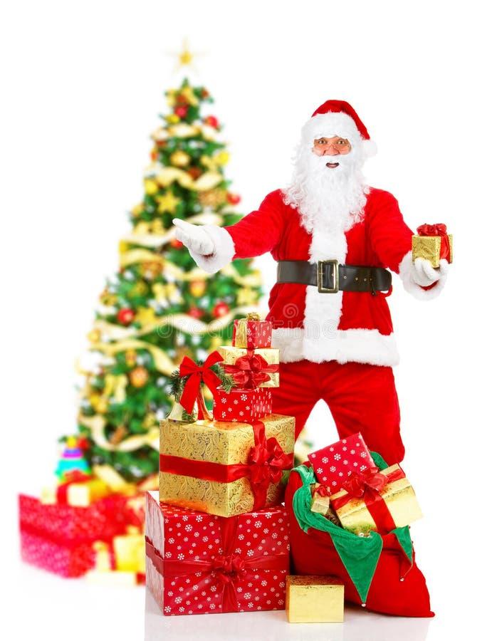Natal Santa imagens de stock